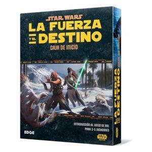 Juego de rol Star Wars la fuerza y el destino